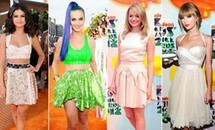 Sao teen đọ dáng  trên thảm đỏ Kids' Choice Awards