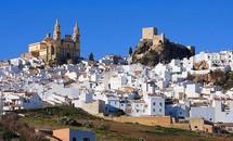 'Thị trấn trắng' ở Tây Ban Nha