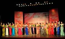 20 thí sinh khu vực phía Bắc dự Vòng chung kết Hoa hậu Việt Nam 2012