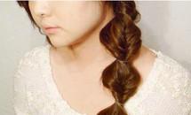 Tóc đẹp diu dàng như công chúa mùa xuân