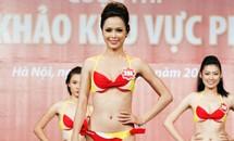 20 thí sinh Hoa hậu khỏe khoắn trong trang phục áo tắm