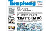 Mời bạn đọc đặt mua nhật báo Tiền Phong Quý II/2017