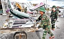 Khẩn trương khắc phục hậu quả sau bão