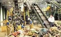 Hà Nội có nhà máy xử lý rác công suất 100 tấn/ngày