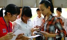 Đăng ký dự thi ĐH, CĐ: Giảm số lượng, cảnh báo về chất lượng