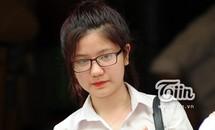 Hot girl An Japan rạng rỡ đi thi tốt nghiệp