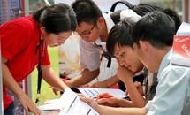 Nhiều trường đại học đưa thông tin phòng thi, số báo danh lên mạng