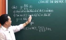 VIDEO: Hướng dẫn chi tiết bài giải các môn hai đợt thi đại học