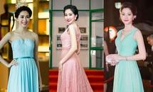 Bộ sưu tập váy nữ tính của Hoa hậu Thu Thảo