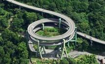 Đường cao tốc Nhật nhìn từ trên cao