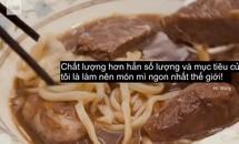 Tô mì bò đắt nhất thế giới ở Đài Bắc