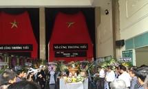 Xúc động tiễn đưa nhà thơ Thanh Tùng về đất mẹ