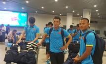 Tuyển Việt Nam tới Phnom Penh chuẩn bị đấu Campuchia