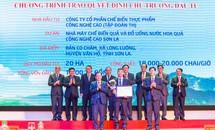Tập đoàn TH đầu tư 2.300 tỷ đồng vào huyện nghèo nhất tỉnh Sơn La