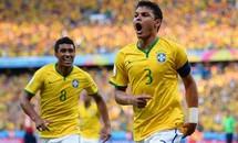 Brazil-Colombia (2-1): Chủ nhà thắng nhọc