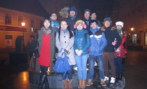 Du học sinh Ba Lan đón năm mới 2014