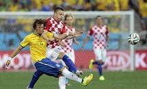 Những hình ảnh ấn tượng của trận mở màn World Cup