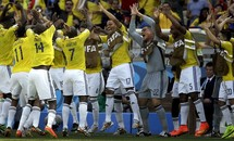 Colombia-Hy Lạp (3-0) : 'Ngựa ô' tung vó