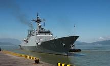Hai chiến hạm của hải quân Hàn Quốc thăm Đà Nẵng