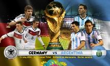 2h ngày 14/7: Đức - Argentina, lịch sử có đổi thay?