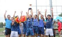 Đội bóng Báo Tiền Phong đoạt giải Phong cách