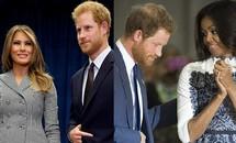 Chuyên gia giải mã thái độ của Hoàng tử Anh với hai phu nhân Mỹ