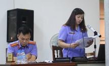 Đề nghị miễn hình phạt cho một số bị cáo trong vụ OceanBank