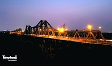 Góc nhìn khác lạ về 6 cây cầu bắc qua sông Hồng