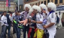 CĐV Real phấn kích trước chung kết Champions League