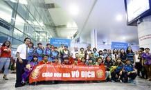 'Cả máy bay vỗ tay ầm ầm khi tuyển nữ Việt Nam mang HCV về nhà'