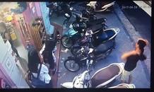SH Mode khóa cổ vẫn bị trộm bẻ khóa trong 5 giây ở Hà Nội