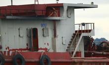 Dùng tàu vỏ sắt công suất lớn khai thác cát trộm