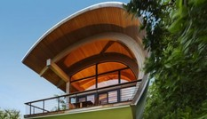 Độc đáo kiến trúc nhà mái cong Casey Key ở Florida