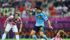 Thắng nhẹ Croatia, Tây Ban Nha giành ngôi đầu bảng