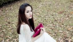 Hương Giang Idol ngày càng nữ tính với áo dài