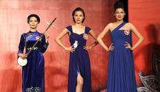 Thí sinh Hoa hậu quyến rũ trong trang phục dạ hội