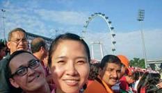Nữ nghiên cứu sinh VN ở Singapore mất tích