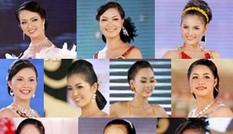 10 người đẹp nhất đêm chung kết HHVN 2008