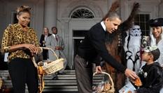 Tổng thống Mỹ vui nhộn với phong cách Halloween