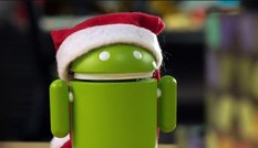 Video robot Android đón Giáng sinh gây xúc động