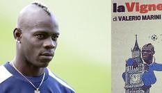 Balotelli bị so sánh với...khỉ đột
