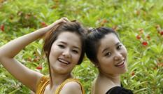 Hai chị em ruột cùng dự thi Hoa hậu Việt Nam