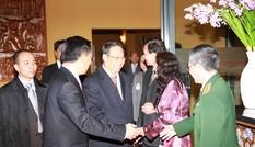 Phó Thủ tướng gặp gỡ kiều bào tại Đức