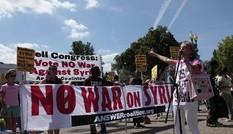 Biểu tình trước Nhà Trắng phản đối tấn công Syria