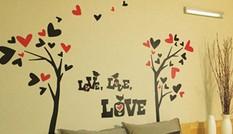 Không gian sống động hơn với  tranh tường