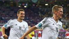 Hạ Đan Mạch, Đức giành ngôi đầu bảng