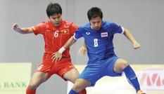 Futsal Việt Nam thua toàn diện Thái Lan
