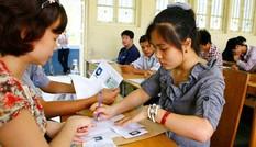 Kỳ thi THPT quốc gia 2015: Thí sinh nộp phí thấp hơn mọi năm