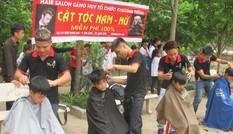 Lên non tìm trẻ cắt tóc miễn phí