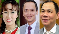 Những người giàu nhất sàn chứng khoán Việt Nam